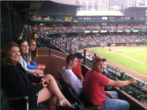we took a group of 12 young adults to a Redbirds game July 18th where we enjoyed the game from a suite.
