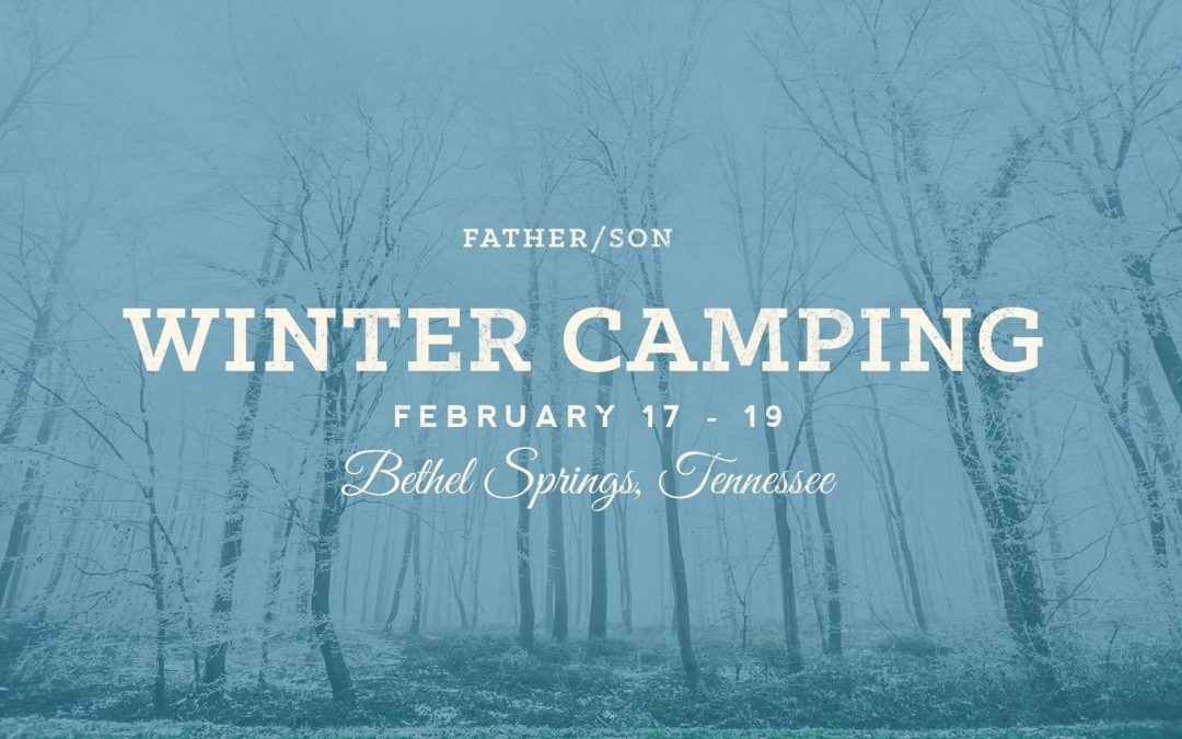 Father & Son 2017 Winter Camping