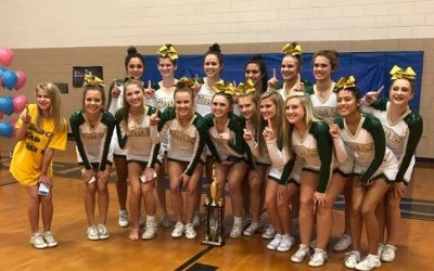 Cheerleaders Win 1st Place