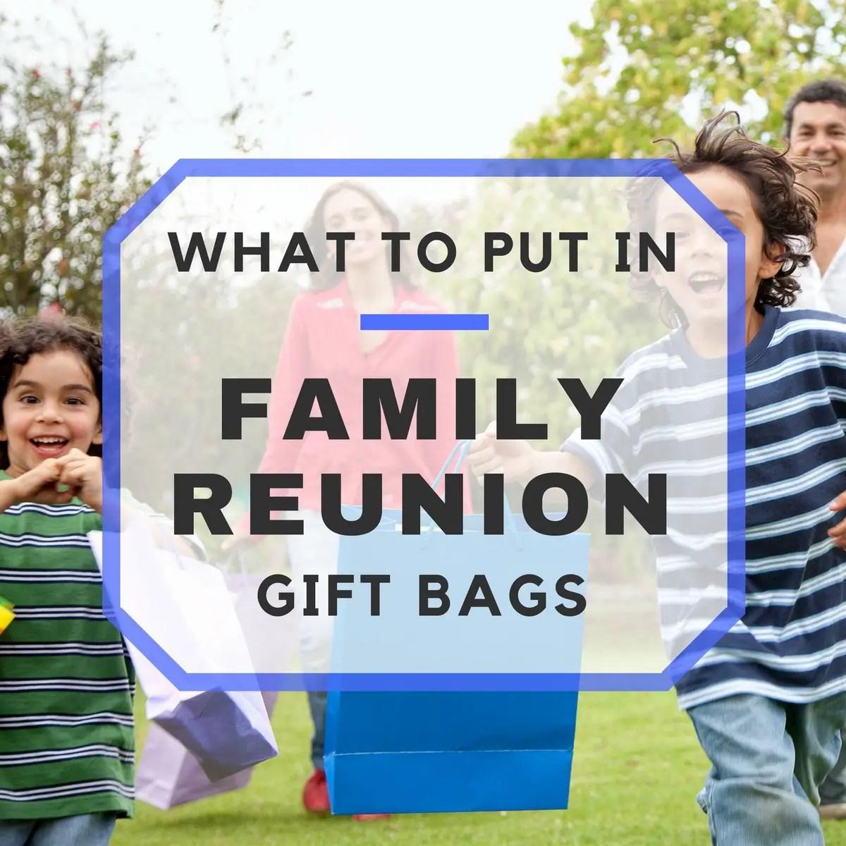 Family Reunion Favors Make