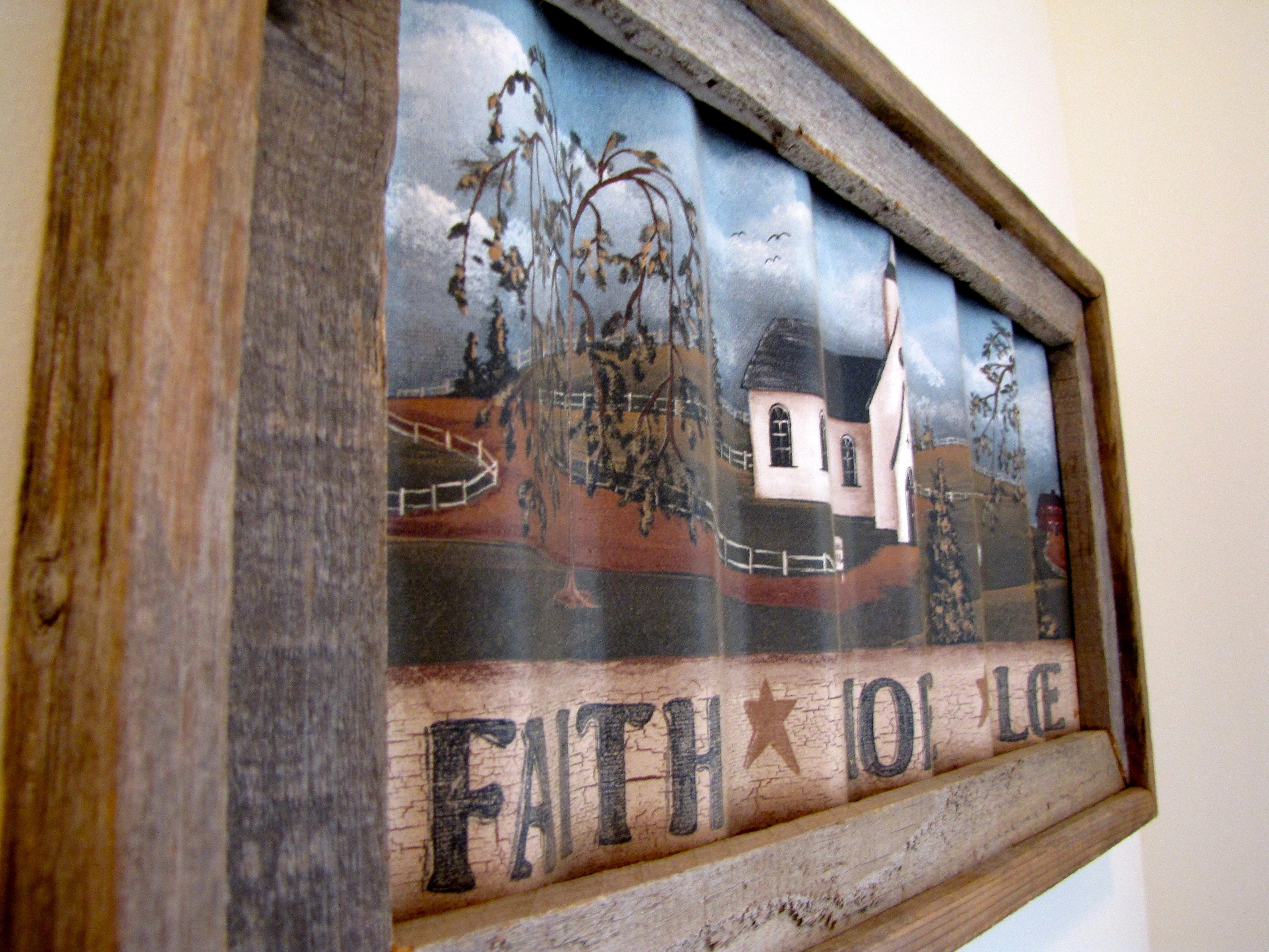 Diy repurposed window to hook board gathered in the kitchen for Old wooden windows craft ideas