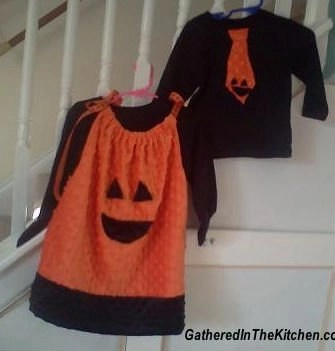 Kid's Pumpkin Outfits