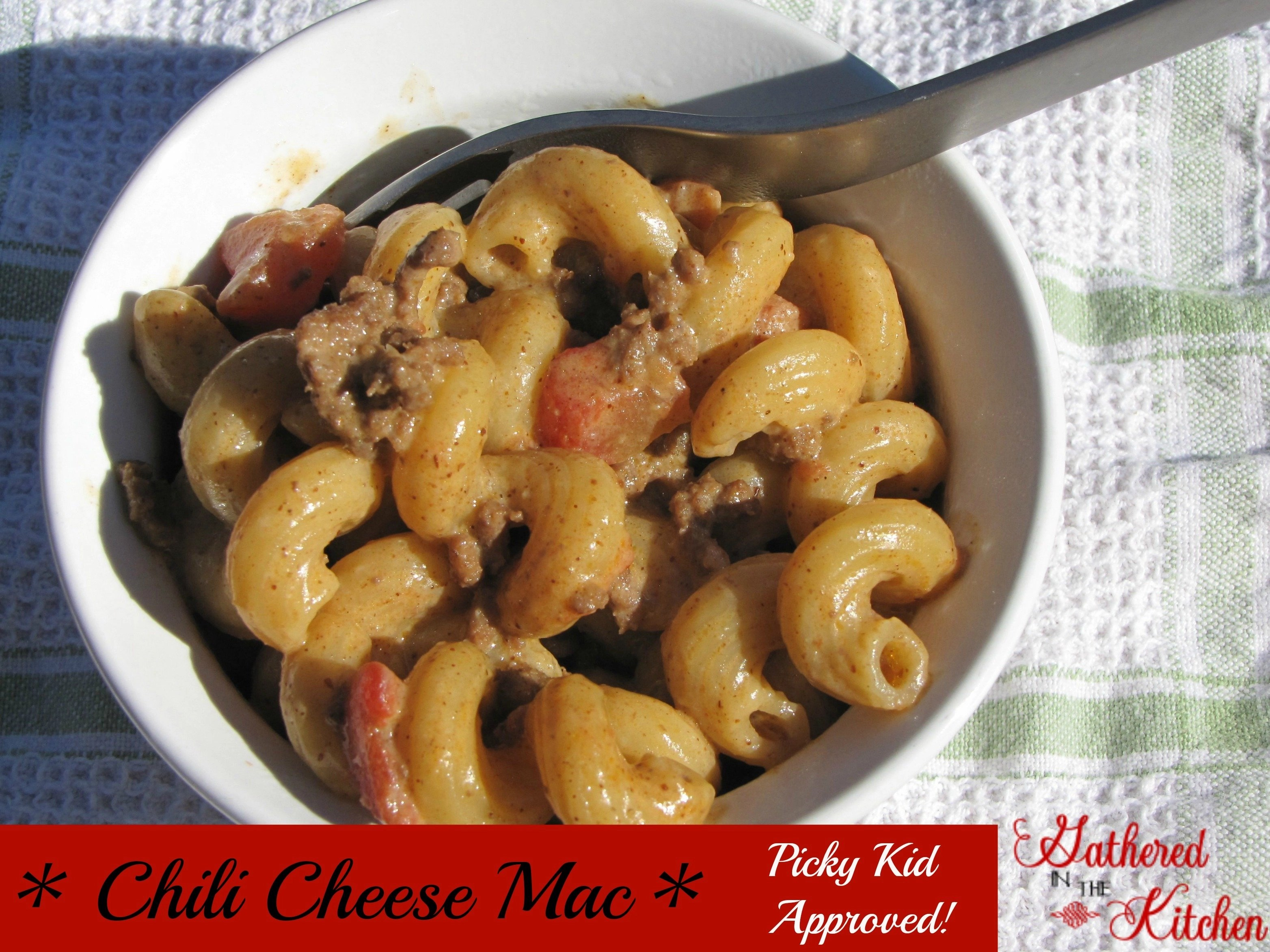chili cheese mac