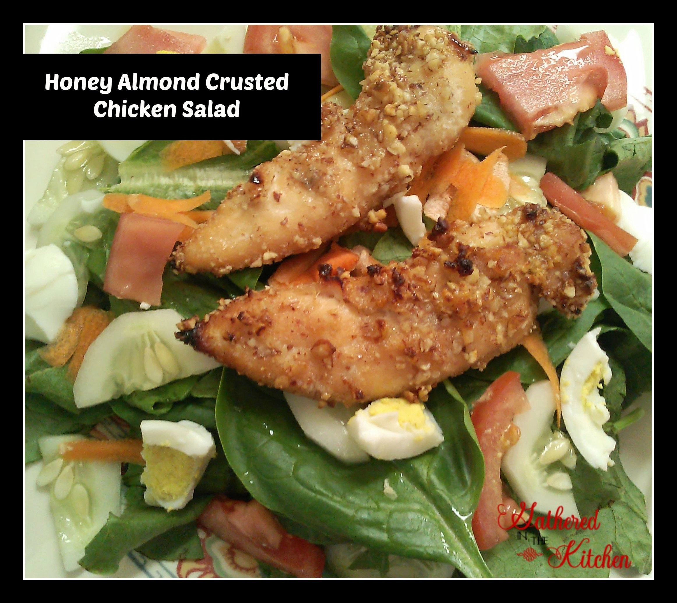 honey chicken salad that is delicious!