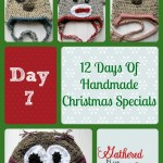 12 Days Of Handmade Christmas Specials – Day 7: Crocheted Animal Hats