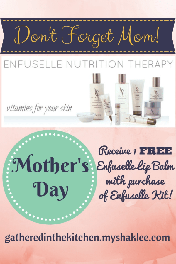 Shaklee Mother's Day Skin Care System - Enfuselle Skin ...