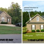 Front of House Makeover – Before & After