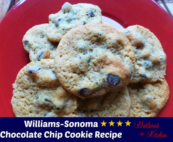 williams-sonoma cookies