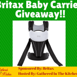 Britax Baby Carrier Giveaway!!