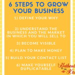 6 Steps To Grow Your Business