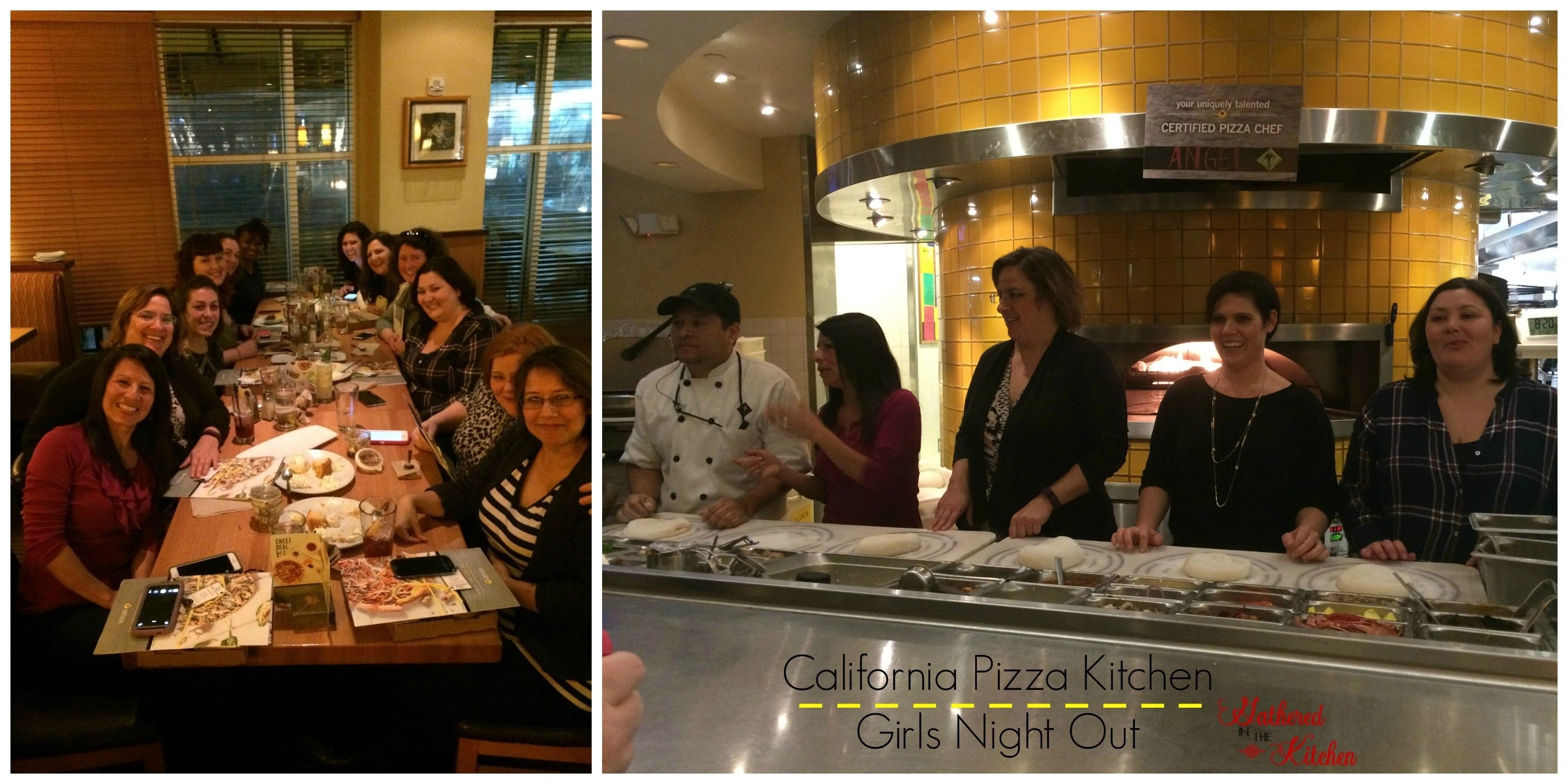california pizza kitchen girls night out