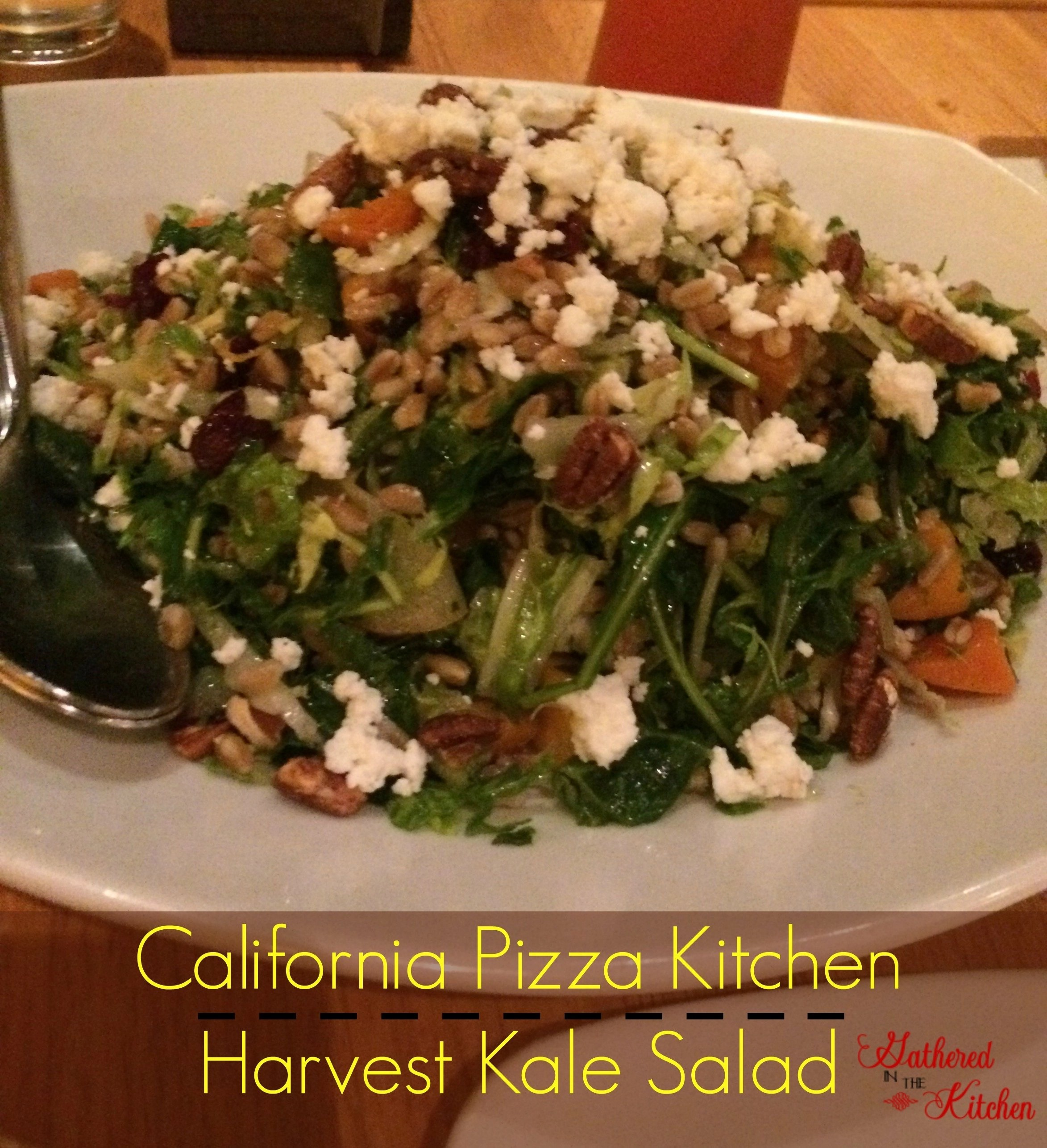 california pizza kitchen harvest kale salad