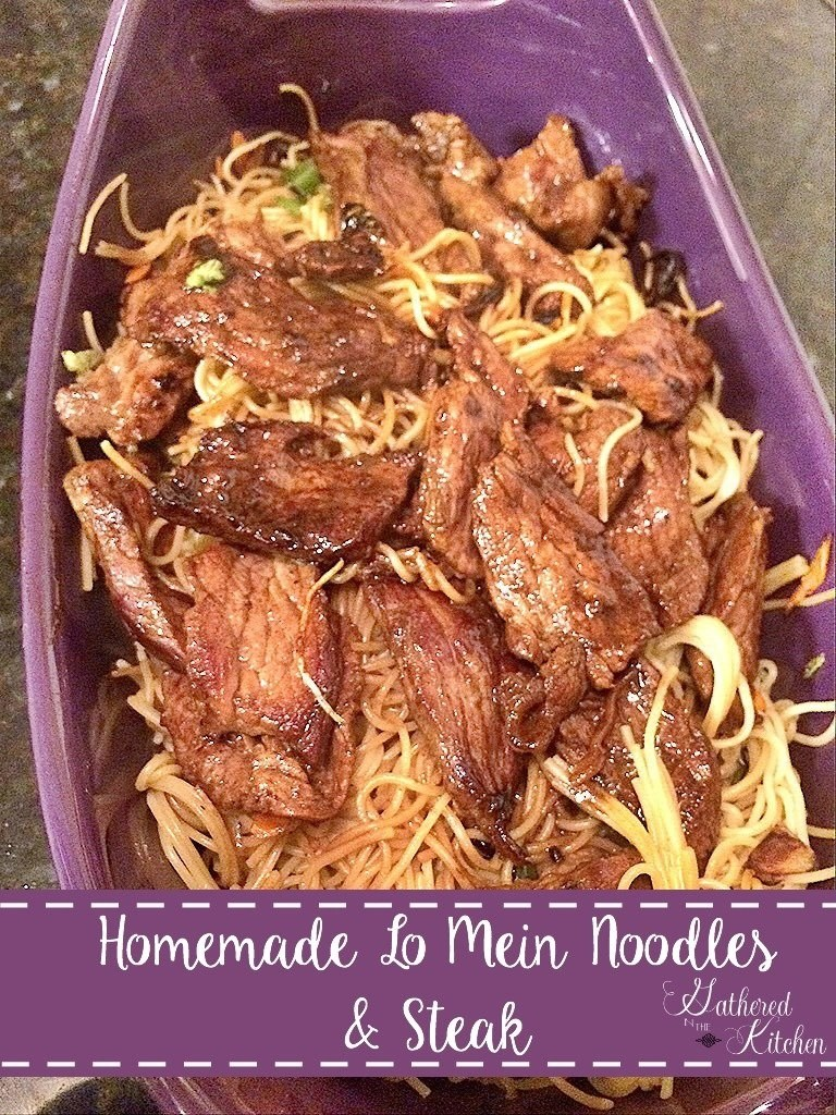 The easiest, most delicious lo mein you will make!  It's quick, healthy and best of all, it's kid approved!!!