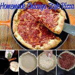 Homemade Chicago Style Pizza