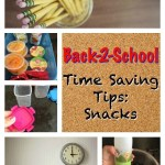 Back-2-School Time Saving Tips: Snacks