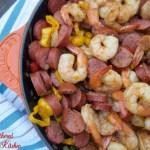 Paleo Shrimp & Sausage Skillet