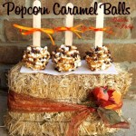 Popcorn Caramel Balls