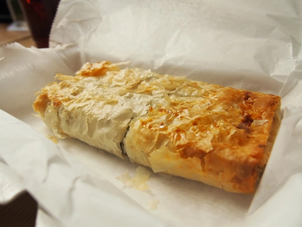Downtown Chicago, IL : Spanakopita