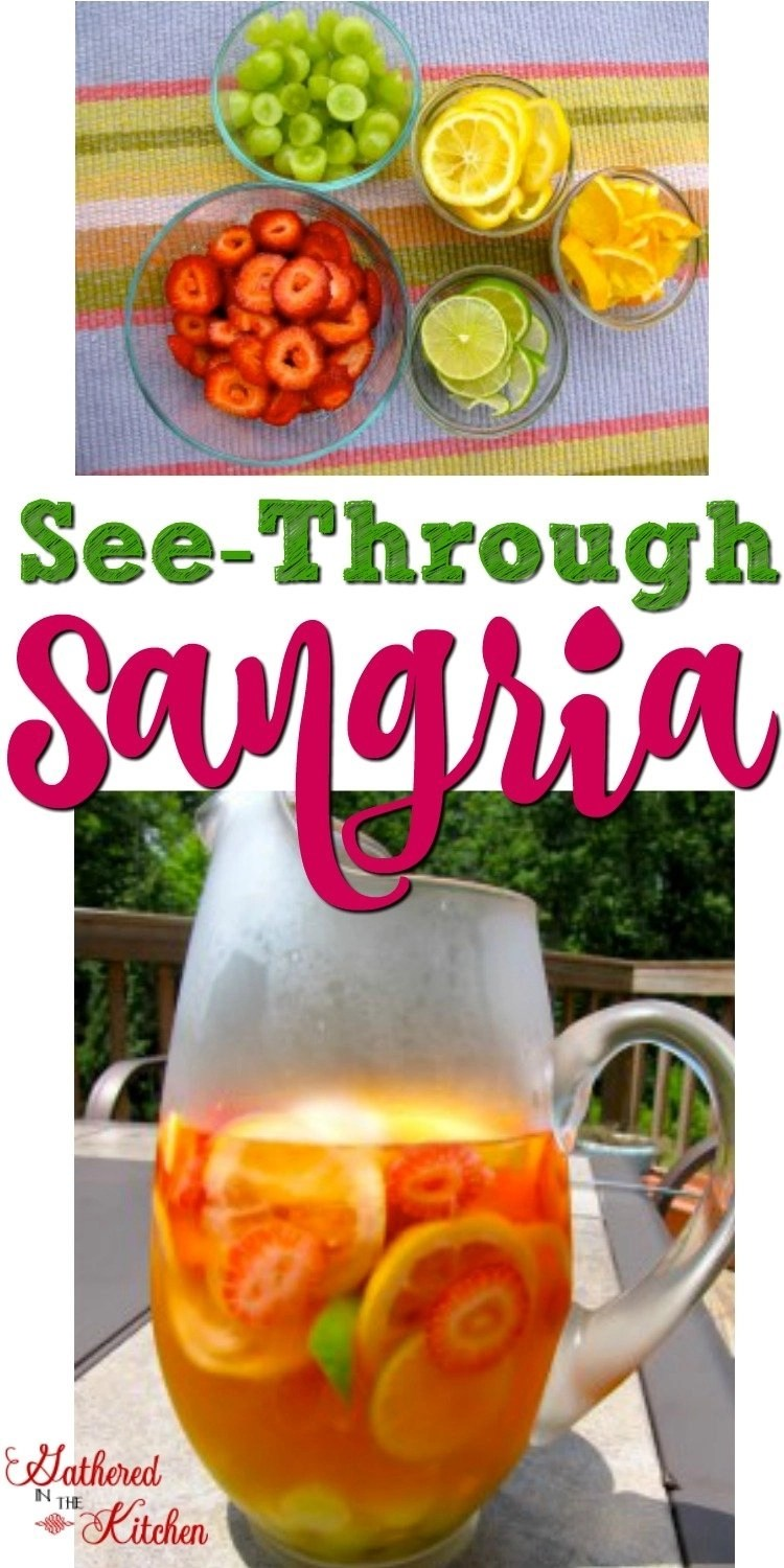 see-through sangria