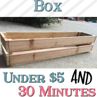 DIY Crate Centerpiece Box