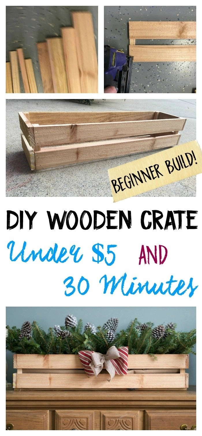 how to build a crate box