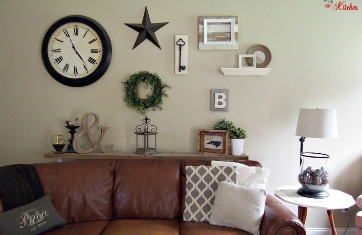 Farmhouse Inspired Wall Gallery