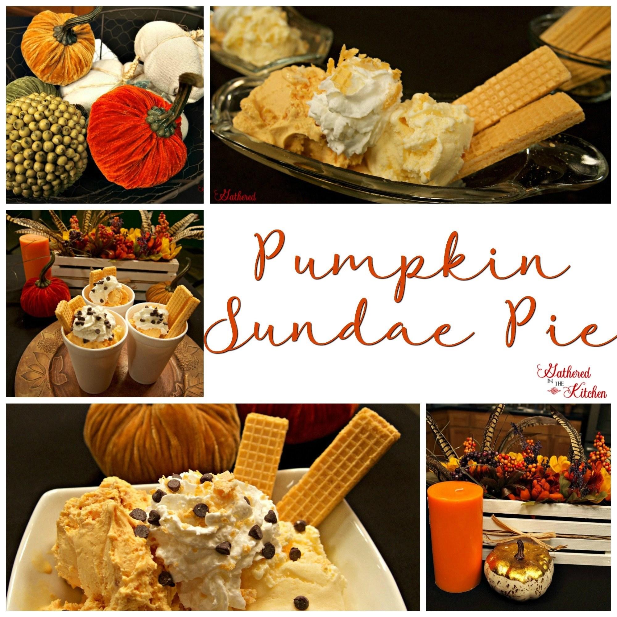 Pumpkin Sundae Pie Ice Cream