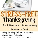 The Ultimate Thanksgiving Planner eBook & Challenge
