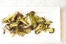 Roasted Broccoli with Shallots adapted from Rachel Ray Magazine
