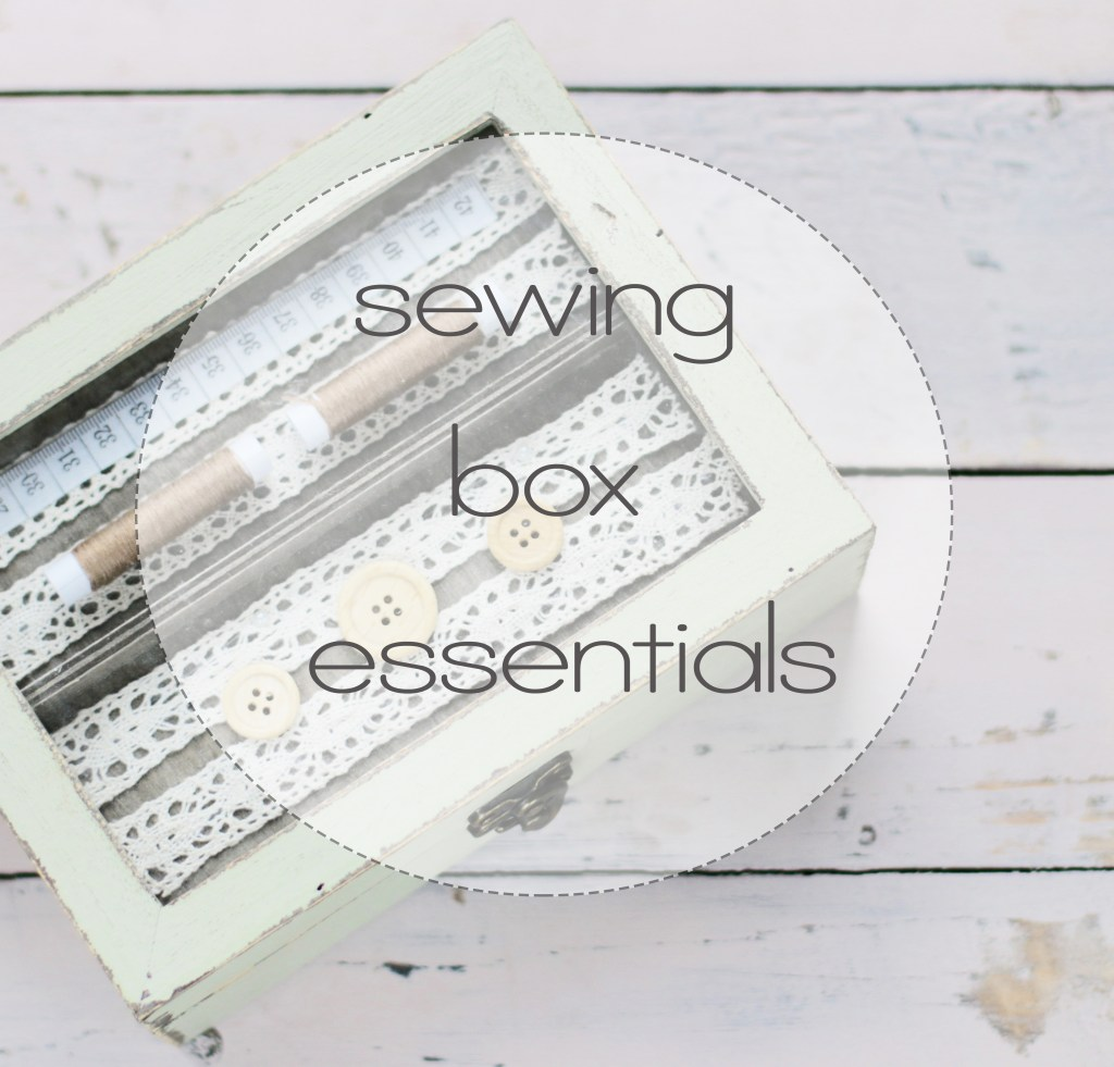 sewing for kids 101: beginners sewing box essentials