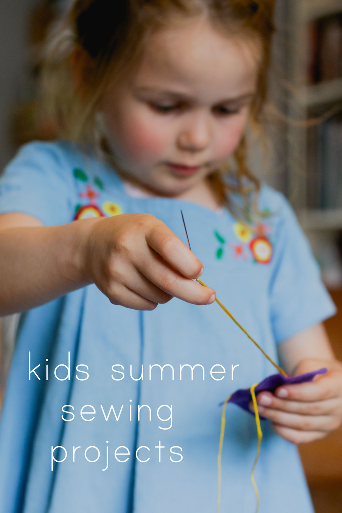 kids that sew || summer projects