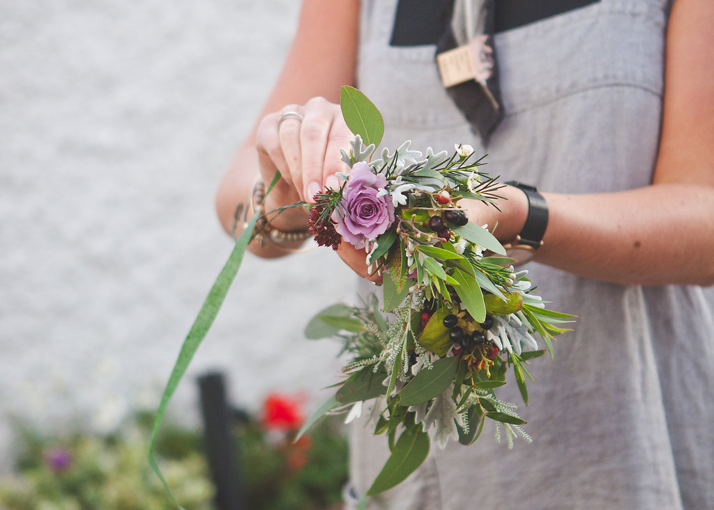 floral crown tutorial