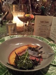 Herbfarm restaurant Truffle Treasure dinner