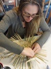 Twined weaving workshop