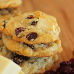 Cranberry White Chocolate Chunk Cookies