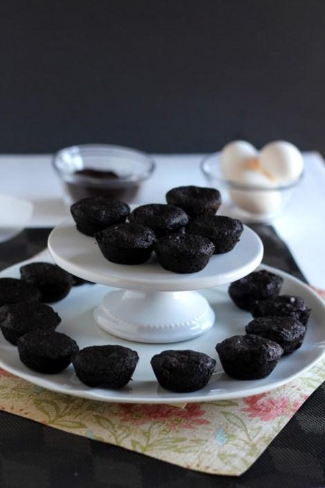 Fudgy Brownie Bites  gatherforbread.com