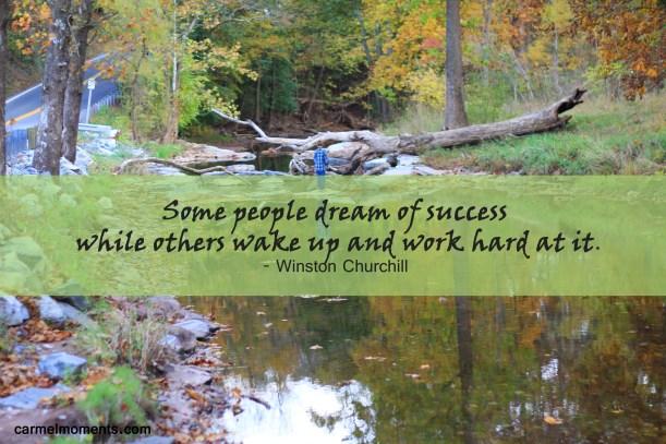 Success Winston Churchill Quote