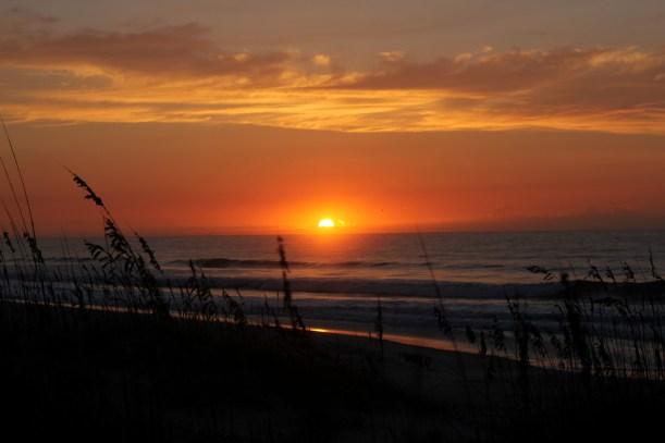 Sunrise Topsail Island 2013