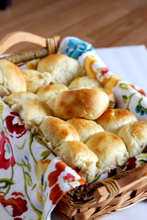 Fluffy Make Ahead Dinner Rolls