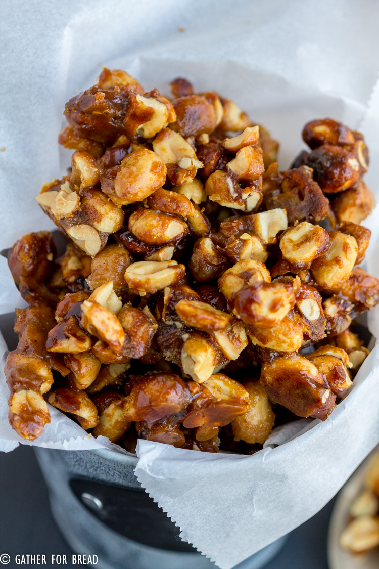 Sweet and Crunchy Peanuts - Easy Gift - Gather for Bread on kettle sea salt and malt vinegar, kettle tilt drains, kettle steaming rack for food with,