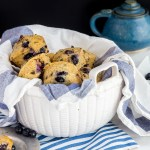 Blueberry Chocolate Chip Muffins {with video}