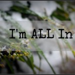 Sacrifice in Response to a Promise – I'm ALL In