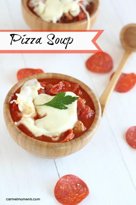 Pizza Soup | gatherforbread.com