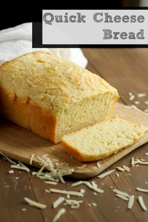 Quick Cheese Bread | Carmel Moments