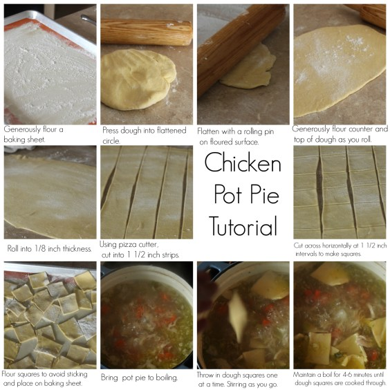 Pot Pie Tutorial Carmel Moments