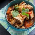 Southwest Chicken Vegetable Soup