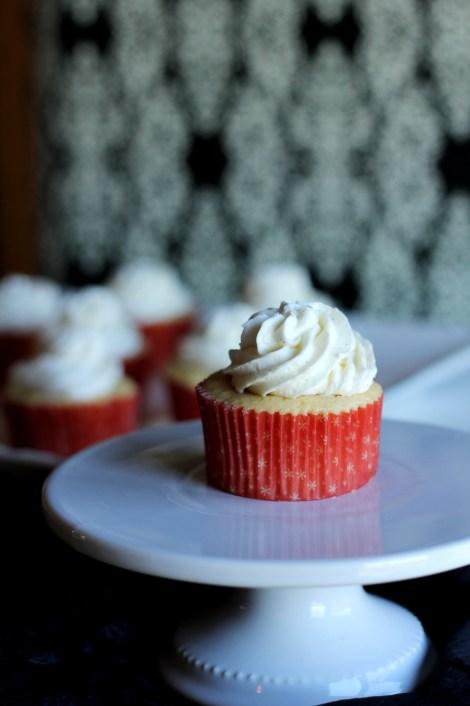 Vanilla Bean cupcakes | Carmel Moments