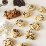 Soft Cream Cheese Dark Chocolate Chip Cookies