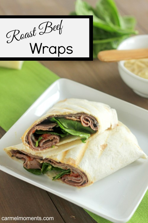 Roast Beef Wrap A classic roast beef & havarti wrap. Lunch on the go.