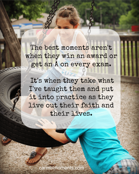 The Highs and Lows of Parenting | Carmel Moments
